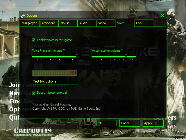 CS 1.6 Modern Warfare 3