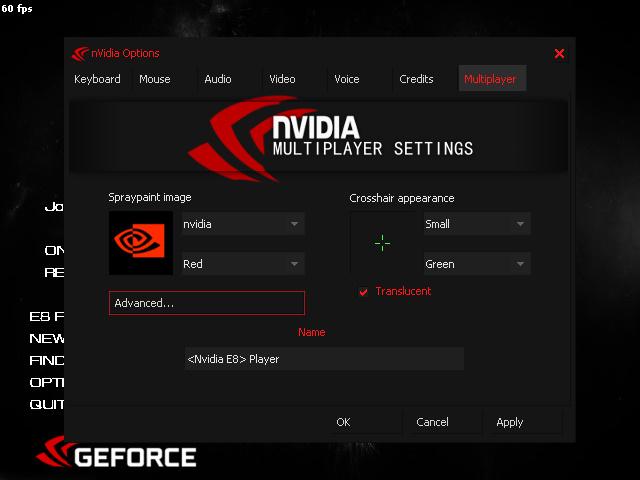 CS 1.6 Nvidia E8
